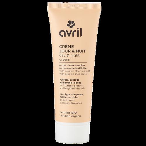 AVRIL : Crème Jour et Nuit 50ml - certifiée bio