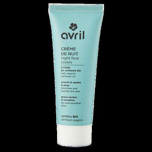 Crème peaux sèches et sensibles 50ml - certifiée bio
