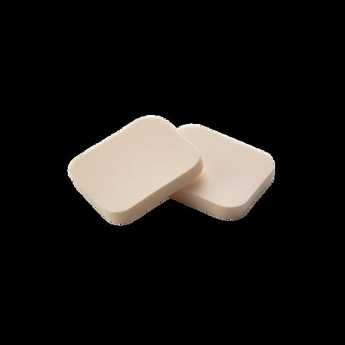 Éponge à maquillage sans latex (2 pièces)