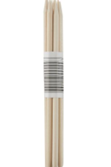 AVRIL: Repousses cuticules en bois X10
