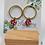 Thumbnail: Cé Chouette : Boucles d'oreilles à puces  PVC/Bronze/Laiton/Cuir
