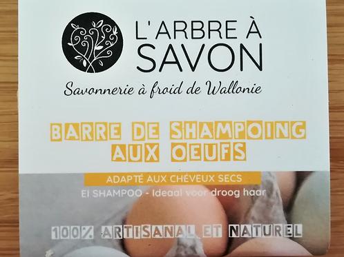 L'arbre à savon: Shampoing aux œufs (pour bébé, jeunes enfants ou cheveux secs)