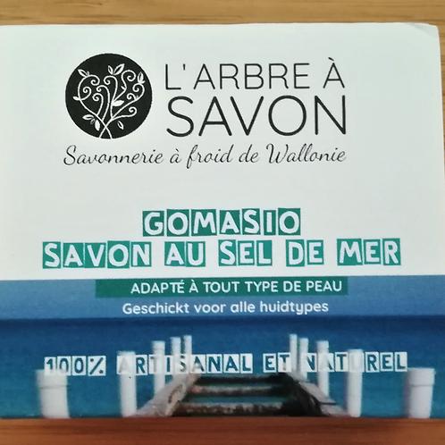 L'arbre à savon: Savon « Gomasio » au sel de mer, pour un gommage léger