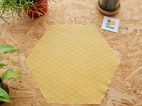 WRAPI: Toile enduite en cire d'abeilles 30 cm