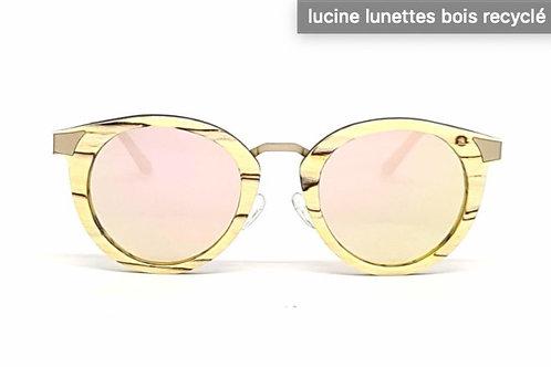 """Lunettes de soleil en bois femme """"Lucine"""""""