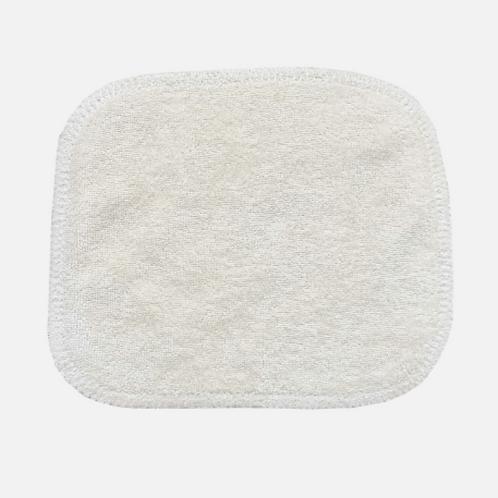 AVRIL: Grand carré lavableBébé en coton bio