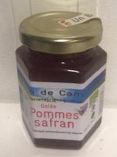 Gelée Pommes Safran bio