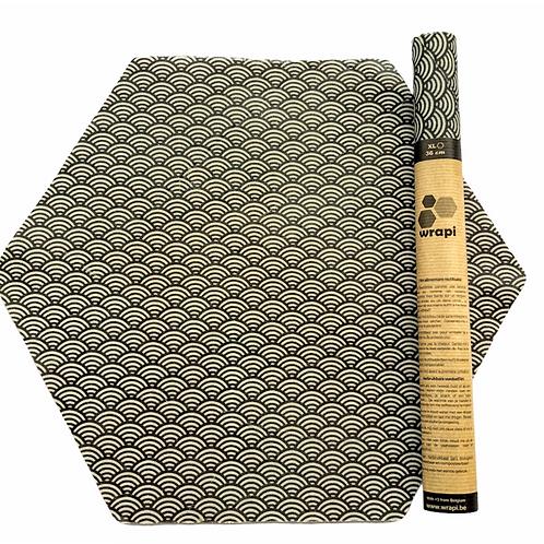 WRAPI: Toile enduite en cire d'abeilles 36 cm