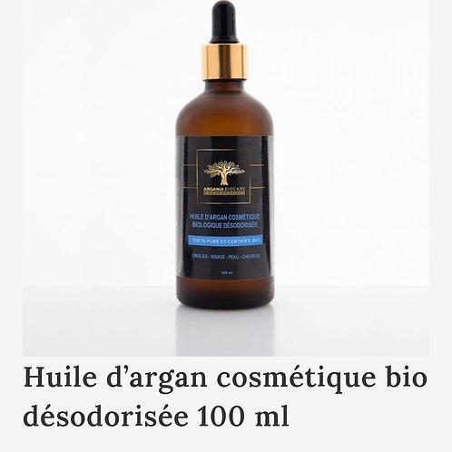 ARGANIA BIO CARE: Huile d'Argan cosmétique désodorisée 100ml