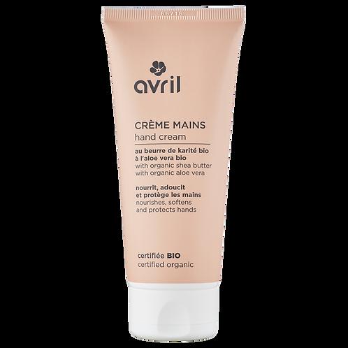 AVRIL : Crème pour les mains 100ml - certifiée bio