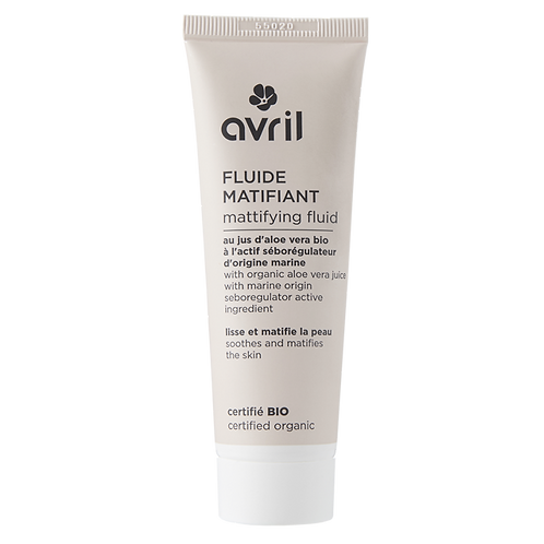AVRIL : Fluide matifiant 50ml - certifié bio