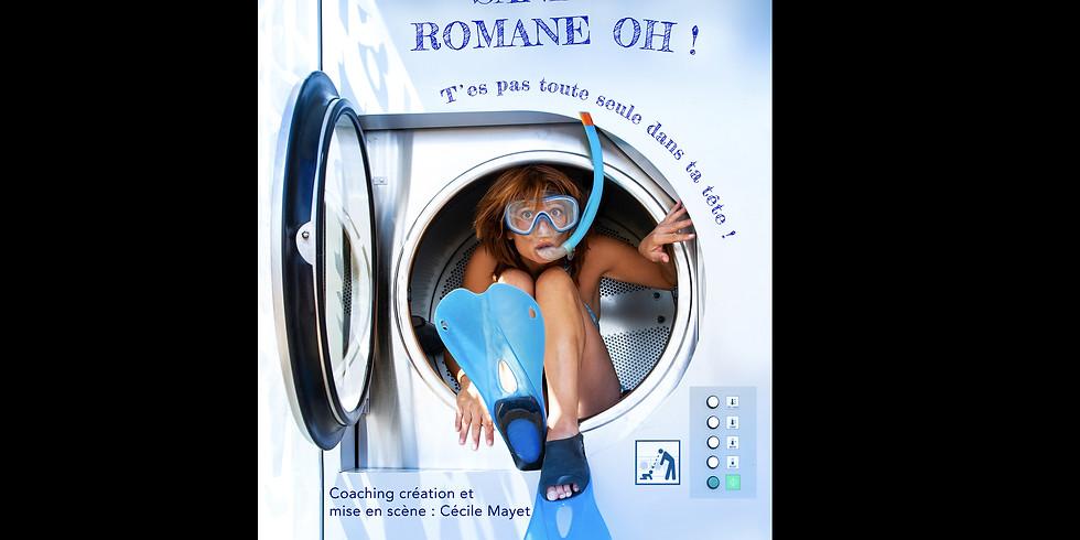 """One woman show """"Tu n'es pas toute seule dans ta tête"""" Sandra Romane Oh  (1)"""