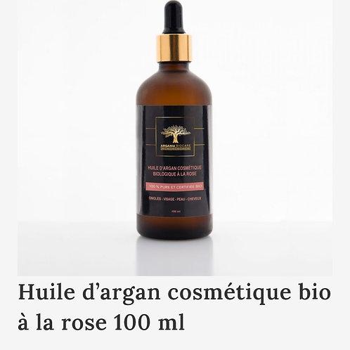 ARGANIA BIO CARE: Huile d'Argan cosmétique à la Rose 100ml
