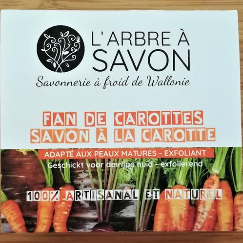 L'arbre à savon : Savon « Fan de carottes » pour votre teint (exfoliant)
