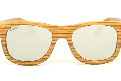 Lunettes de soleil homme en bois | Zébrano | Minos