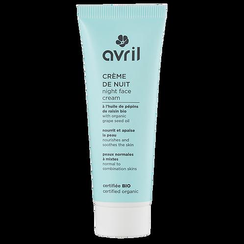 Crème peaux normales & mixtes 50ml - certifiée bio
