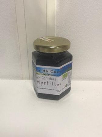 Confiture bio Myrtilles