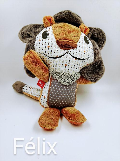3 Little Monkeys : Doudou lion