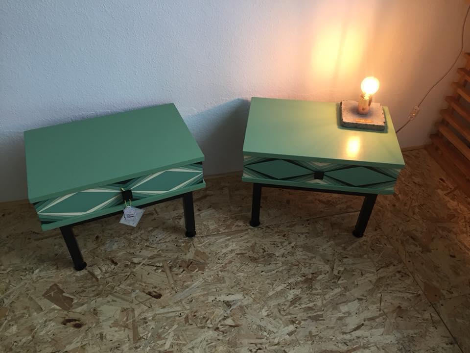 Tables de nuit Little big vintage