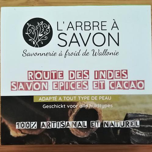 L'arbre à savon: Savon « Route des Indes » aux épices et cacao