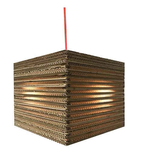 KARTENT: Lampe Kraggenburg en carton