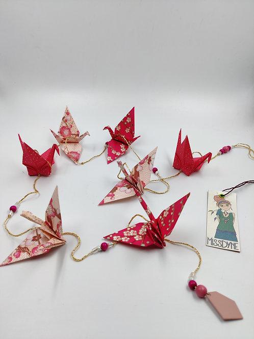 MissDyne : Guirlande origami grue