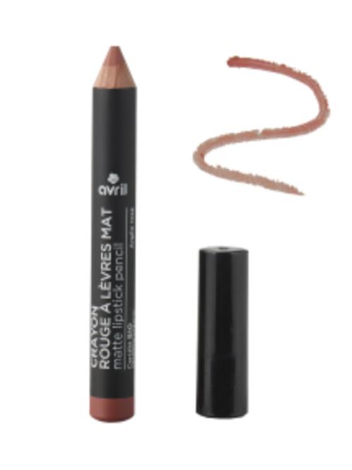 AVRIL: Crayon rouge à lèvre Mat -certifié Bio