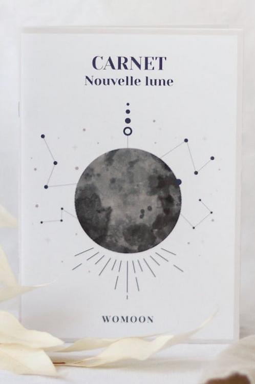 WOMOON: Carnet nouvelle lune