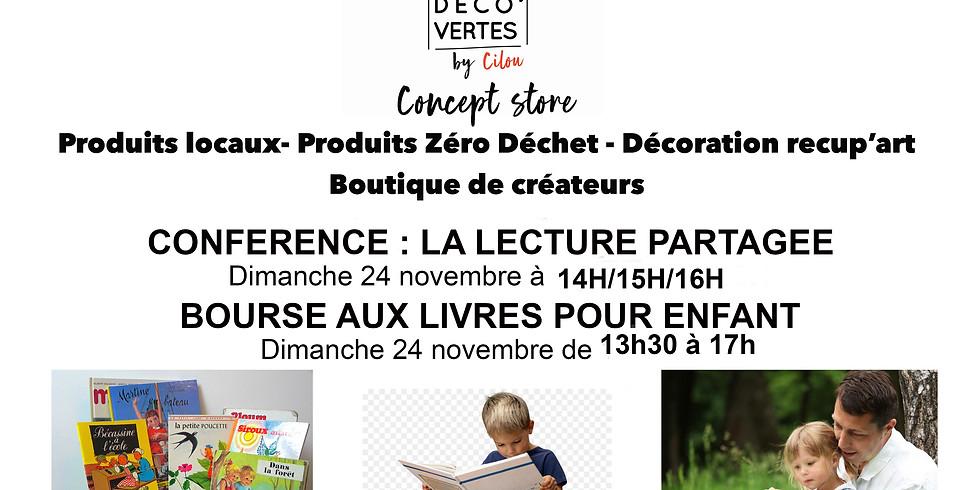 Conférence : La LECTURE PARTAGEE