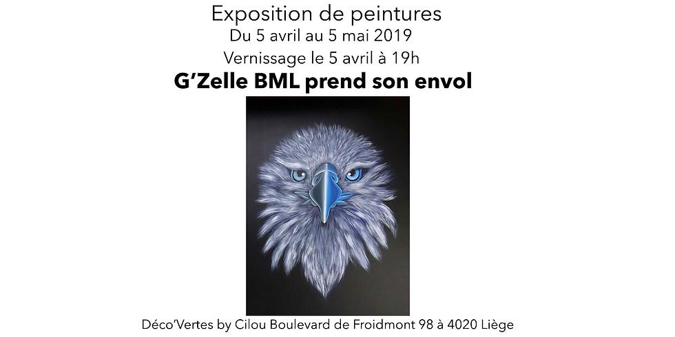 G'Zelle BLM expose chez Deco'Vertes by Cilou