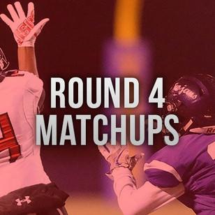 Round 4 Playoff Match Ups