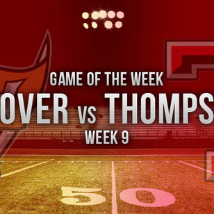 Thompson Tops Hoover 32-25 with 4th Quarter Drive in ALFCA Game of the Week
