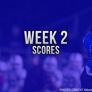 Week 2 Football Scores
