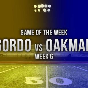 Gordo Dominates 1st Half, Beats Oakman 47-20 in ALFCA Game of the Week