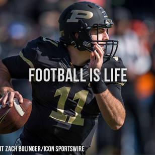 "Purdue QB David Blough's ""Football is Life"" Speech at Big 10 Luncheon"