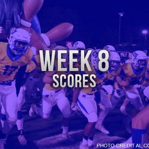 AHSAA Week 8 Scores