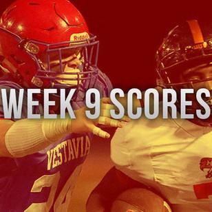AHSAA Week 9 Scores
