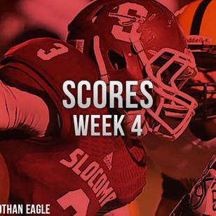 Week 4 Scores