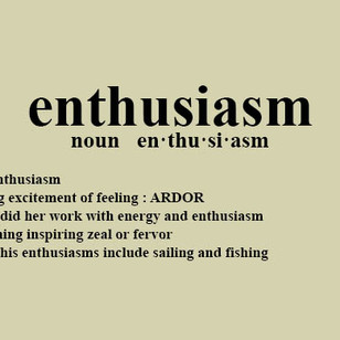 Enthusiasm Could be the Key to Your Success This Year