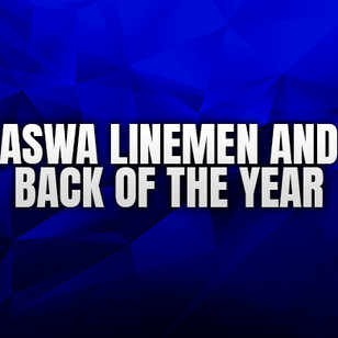 Lineman, Back of the Year Finalists Announced