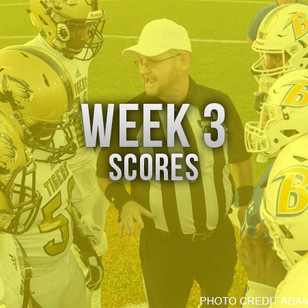 AHSAA Week 3 Football Scores