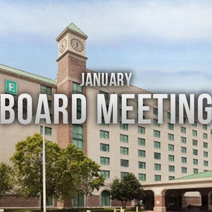 Minutes of January ALFCA Board Meeting