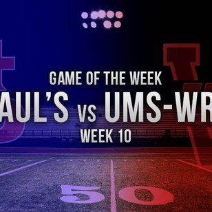 St. Paul's Travels Down the Road to Battle UMS Wright in the ALFCA Game of the Week