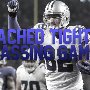 Utilizing the Attached Tight End in the Passing Game