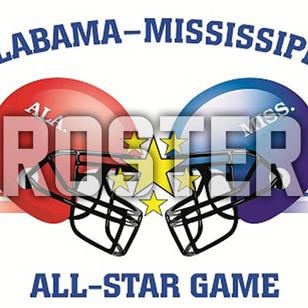 Alabama Roster for Alabama-Mississippi All Star Game