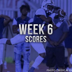 AHSAA Week 6 Scores