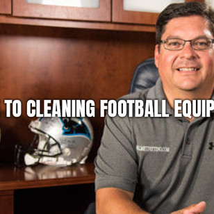 Guide to Cleaning Football Equipment