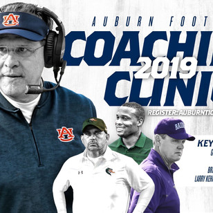 Auburn Coaching Clinic March 21st-23rd
