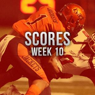 AHSAA Scores Week 10