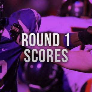 Playoff Scores- Round 1
